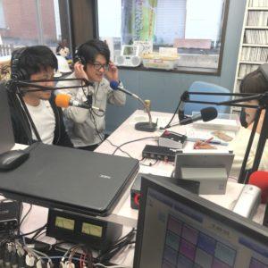 前田社長&岡野部長2度目のラジオ出演📻