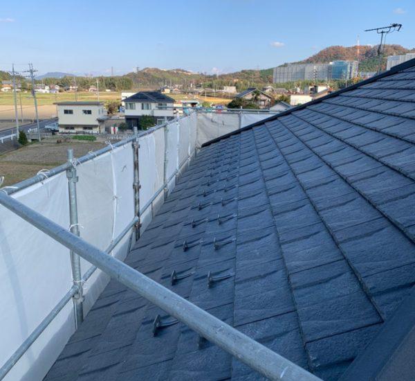 野洲市 「屋根葺き替え工事」